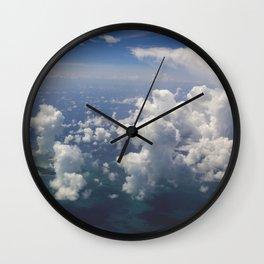 Head Clouds IV Wall Clock