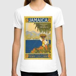 Vintage poster - Jamaica T-shirt