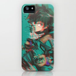 Midoriya Izuku iPhone Case