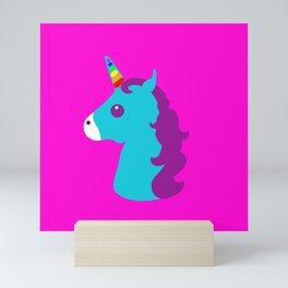 Portrait  of a Unicorn Mini Art Print