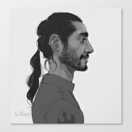 RogueOneBodhi Canvas Print