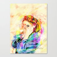 snsd Canvas Prints featuring Hide & Seek by Kimberly Phan