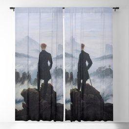 Wanderer above the Sea of Fog Blackout Curtain