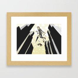 Sleepfloating Framed Art Print