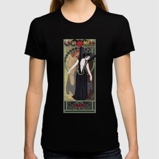 Dark Lili Nouveau - Legend Black LARGE Womens Fitted Tee