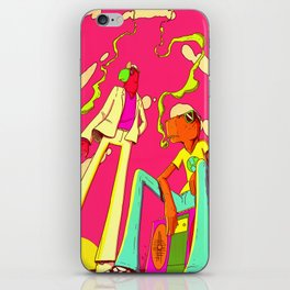 DJ BURGS iPhone Skin