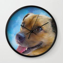 Hurley - Puggle Wall Clock