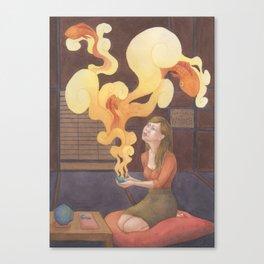 Teahouse of Wonder Canvas Print