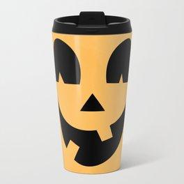 Silly Jack-O-Lantern Travel Mug
