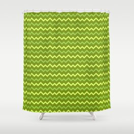 Forest Abstract pattern Shower Curtain