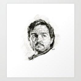 Cassain Andor Portrait Art Print