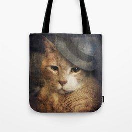 Vinnie Valentino - Ginger Cat Portrait Tote Bag