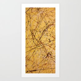 The Oxblood Art Print