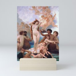 The Birth of Venus by William Adolphe Bouguereau Mini Art Print