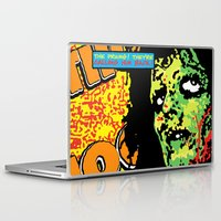 drums Laptop & iPad Skins featuring Voodoo Drums by Sellergren Design - Art is the Enemy