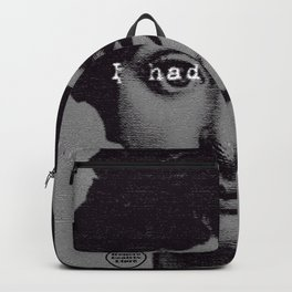 I had a good idea...gray Backpack