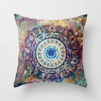 focus Throw Pillows featuring Focus by Ellie's Art Cave