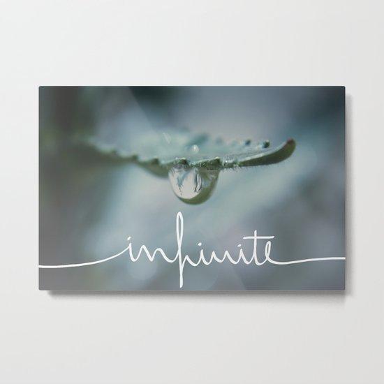 Infinite Metal Print