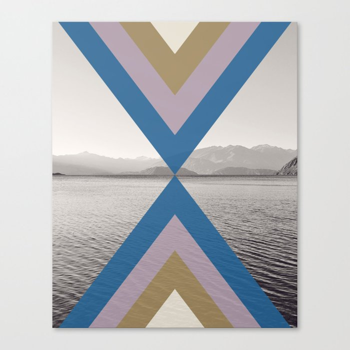 Boho Arrows of Lake Wanaka Canvas Print