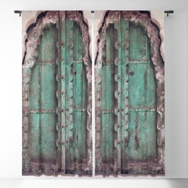 Doors Of Rajasthan Blackout Curtain