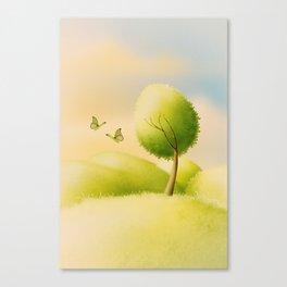 ein schöner Tag Canvas Print