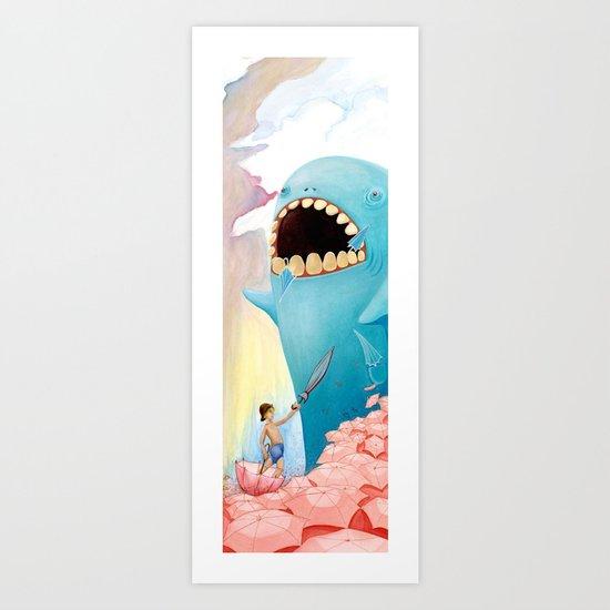 Sea Monster Art Print