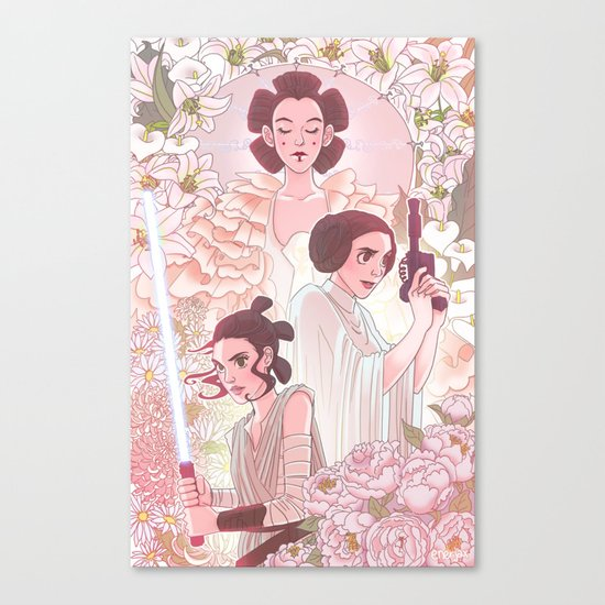 Ladies of the Light Side Canvas Print