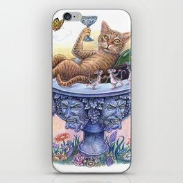 Animals behaving badly (One in a series) iPhone Skin