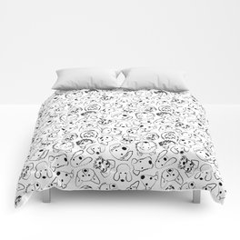 Dogs pattern Comforters