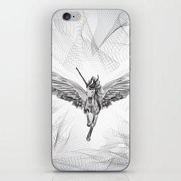 Flying Unicorn iPhone Skin