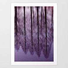 Water Trees - JUSTART © Art Print