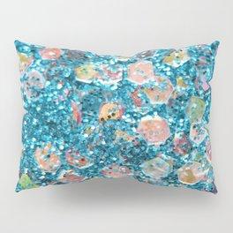 Mermaid Scales 2 - Blue Pillow Sham