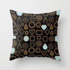 Gems #3 Throw Pillow