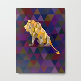 My Lion King Metal Print
