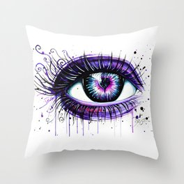 """Broken heart"" Throw Pillow"