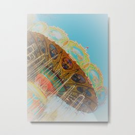 Carousel 2 Metal Print