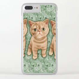 Mr Waffles Clear iPhone Case
