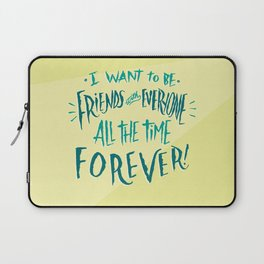 Friends With Everyone Laptop Sleeve