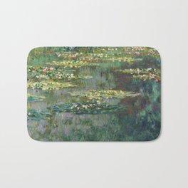 Water Lilies 1904 by Claude Monet Bath Mat