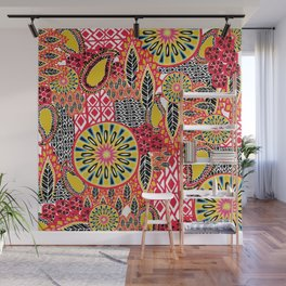 Tribal Patchwork Wall Mural