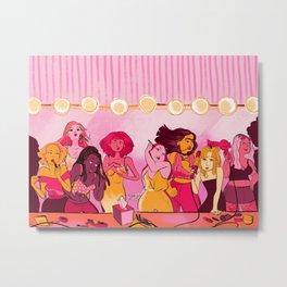 The Ladies Room Metal Print