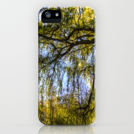 The Pond Trees iPhone Case