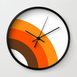 Harvest Rainbow - Right Side Wall Clock