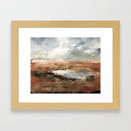 Alberta drive Framed Art Print