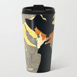 Toulouse Lautrec Divan Japonais music hall Travel Mug