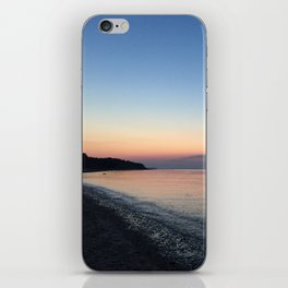 Bay Sunset iPhone Skin