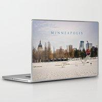 minneapolis Laptop & iPad Skins featuring Minneapolis by Kimberley Britt