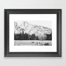 THE MOUNTAINS XI Framed Art Print