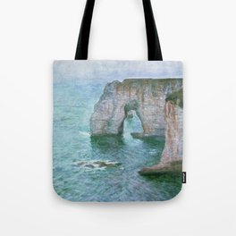 Claude Monet, French, 1840-1926 Manne-Porte, Etretat Tote Bag