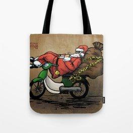 Xe Om Santa Tote Bag